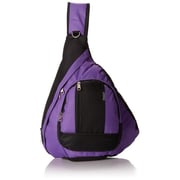 Everest BB015-DPL-BK Sling Bag - Dark Purple-Black (EVRT612)