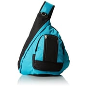 Everest BB015-TURQ-BK Sling Bag - Turquoise-Black (EVRT615)