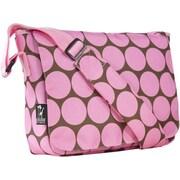 Wildkin Big Dots Pink Kickstart Messenger Bag (WILD310)