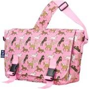 Wildkin Horses in Pink Jumpstart Messenger Bag - Jamie Kalvestran (WLDKRTL59)