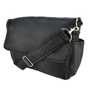 Trend Lab DIAPER BAG - BLACK AND RED MESSENGER (TREND2605)