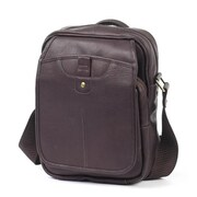 Claire Chase Classic Man Bag - Cafe (CLRCS123)