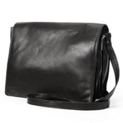 R And R Collection Large Size Front Flap Organizer Bag, Black (RCLN004)