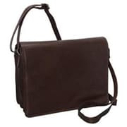 R And R Collection Large Size Front Flap Organizer Bag, Brown (RCLN005)