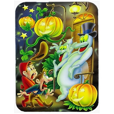 Carolines Treasures Scary Ghosts & Halloween Trick or Treaters Mouse Pad, Hot Pad or Trivet (CRLT88337)