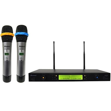Acesonic Dual Wireless Microphone System True Diversity - 100 Channels (ACES049)