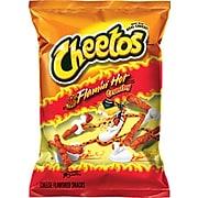 Cheetos Crunchy Cheese Snacks, Flamin' Hot, 2 oz., 64/Carton (FRI44368)