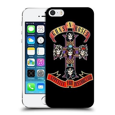 Official Guns N' Roses Key Art Appetite For Destruction Hard Back Case For Apple Iphone 5 / 5S / Se