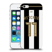 Official Newcastle United Fc Nufc 2016/17 Players Home Kit 1 Ritchie Soft Gel Case For Apple Iphone 5 / 5S / Se