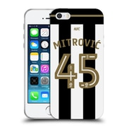 Official Newcastle United Fc Nufc 2016/17 Players Home Kit 1 Mitrovic Soft Gel Case For Apple Iphone 5 / 5S / Se