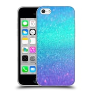 Official Haroulita Glitter Sparkle Turquoise And Purple Soft Gel Case For Apple Iphone 5C