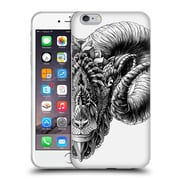 Official Bioworkz Animal Head Rams Head Soft Gel Case For Apple Iphone 6 Plus / 6S Plus