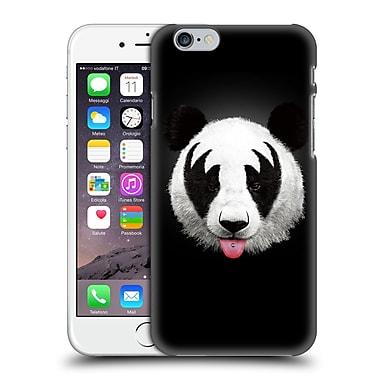 Official Robert Farkas Animals Rockstar Kiss Of A Panda Hard Back Case For Apple Iphone 6 / 6S