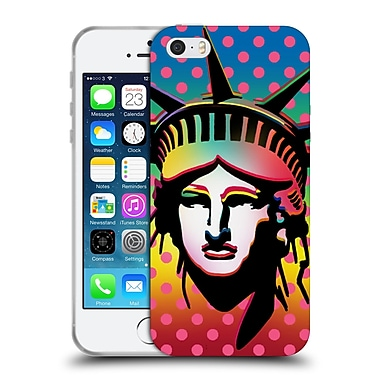 Official Mark Ashkenazi Pop Culture Liberty Soft Gel Case For Apple Iphone 5 / 5S / Se