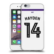 Official Newcastle United Fc Nufc 2016/17 Players Third Kit 2 Hayden Soft Gel Case For Apple Iphone 6 / 6S