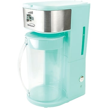Brentwood Appliances Iced Tea And Coffee Maker, 64 oz., Blue (Kt-2150bl),Size: large