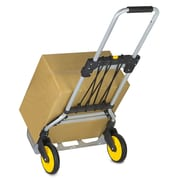 Mount-It! Folding Hand Truck and Dolly, 264 Lb Capacity