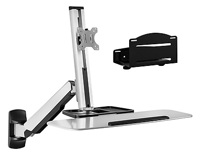 Mount-It! Sit Stand Wall Mount Workstation & Stand Up Work Station