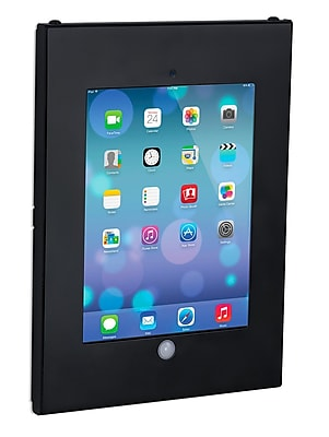 Mount-It! Tablet Wall Mount Enclosure with Anti-Theft Function