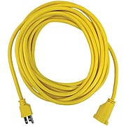 STANLEY 1-Outlet 25 ft.Outdoor Power Extension Cord, Yellow (33257)