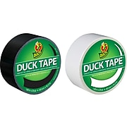 """Duck Heavy Duty Duct Tape, 1.88"""" x 20 Yds., Assorted Colors, 2 Rolls/Pack (DUCKBW2PK-STP)"""