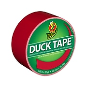 Duck Heavy Duty Duct Tapes, Assorted Colors, 6 Rolls/Pack (DUCKRNBW6PK-STP)