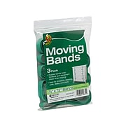 """Duck Moving Bands, 72"""", Green, 3/Pack (285638)"""