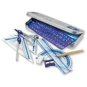 """Staedtler Math Set 4"""" Bundle, Clear, 10/Pack (557 10BN)"""