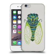 Official Cat Coquillette Insects Cicada Blue Soft Gel Case For Apple Iphone 6 / 6S
