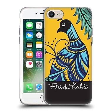 Official Frida Kahlo Peacock Single Soft Gel Case For Apple Iphone 7