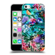 Official Riza Peker Flowers 2 Floral And Birds Iv Soft Gel Case For Apple Iphone 5C