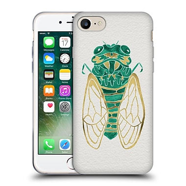 Official Cat Coquillette Insects Cicada Gold Green Soft Gel Case For Apple Iphone 7