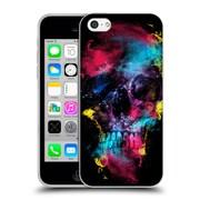 Official Riza Peker Skulls 2 Ix Soft Gel Case For Apple Iphone 5C