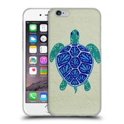 Official Cat Coquillette Sea Turtle Blue Soft Gel Case For Apple Iphone 6 / 6S
