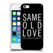 Official Selena Gomez Revival Art Same Old Love Soft Gel Case For Apple Iphone 5 / 5S / Se