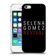 Official Selena Gomez Revival Art Tour Logo Soft Gel Case For Apple Iphone 5 / 5S / Se