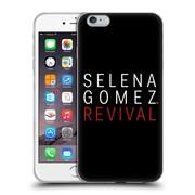 Official Selena Gomez Revival Art Tour Logo Soft Gel Case For Apple Iphone 6 Plus / 6S Plus
