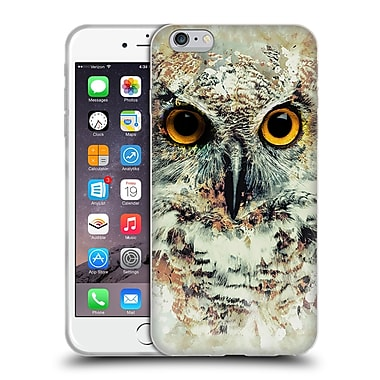 Official Riza Peker Animals Owl Ii Soft Gel Case For Apple Iphone 6 Plus / 6S Plus