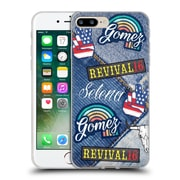 Official Selena Gomez Revival Art Patches Soft Gel Case For Apple Iphone 7 Plus
