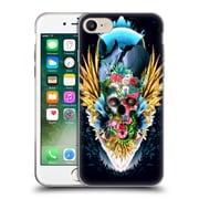Official Riza Peker Skulls 4 Vivid Ii Soft Gel Case For Apple Iphone 7