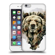 Official Riza Peker Animals Bear Soft Gel Case For Apple Iphone 6 Plus / 6S Plus