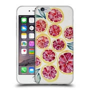Official Cat Coquillette Fruits & Veggies Grapefruits Soft Gel Case For Apple Iphone 6 / 6S