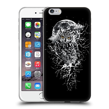 Official Riza Peker Animals 2 Owl Soft Gel Case For Apple Iphone 6 Plus / 6S Plus