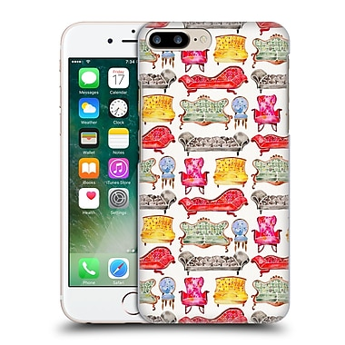 Official Cat Coquillette Patterns 2 Rainbow Victorian Lounge Hard Back Case For Apple Iphone 7 Plus