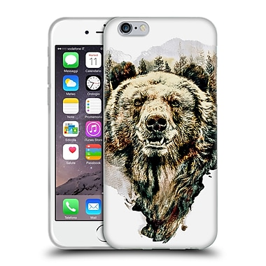 Official Riza Peker Animals Bear Soft Gel Case For Apple Iphone 6 / 6S