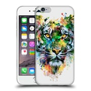 Official Riza Peker Animals 2 Tiger Soft Gel Case For Apple Iphone 6 / 6S