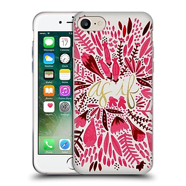 Official Cat Coquillette Quotes Typography 2 As If Coral Soft Gel Case For Apple Iphone 7