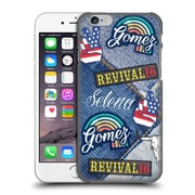 Official Selena Gomez Revival Art Patches Hard Back Case For Apple Iphone 6 / 6S