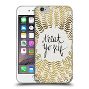 Official Cat Coquillette Treat Yo Self Gold Soft Gel Case For Apple Iphone 6 / 6S