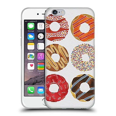 Official Cat Coquillette Sweets Donuts Soft Gel Case For Apple Iphone 6 / 6S